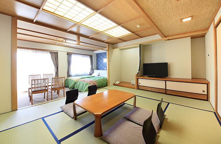 Guest Rooms Gensen Yunoyado Sennotani Sarugakyo Onsen Gunma Prefecture